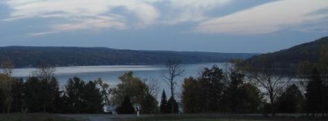 Our beautiful view over Keuka Lake...